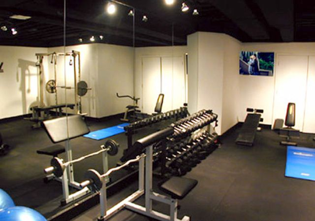 home gym lighting. black ceiling lighting floor to mirror home gym o
