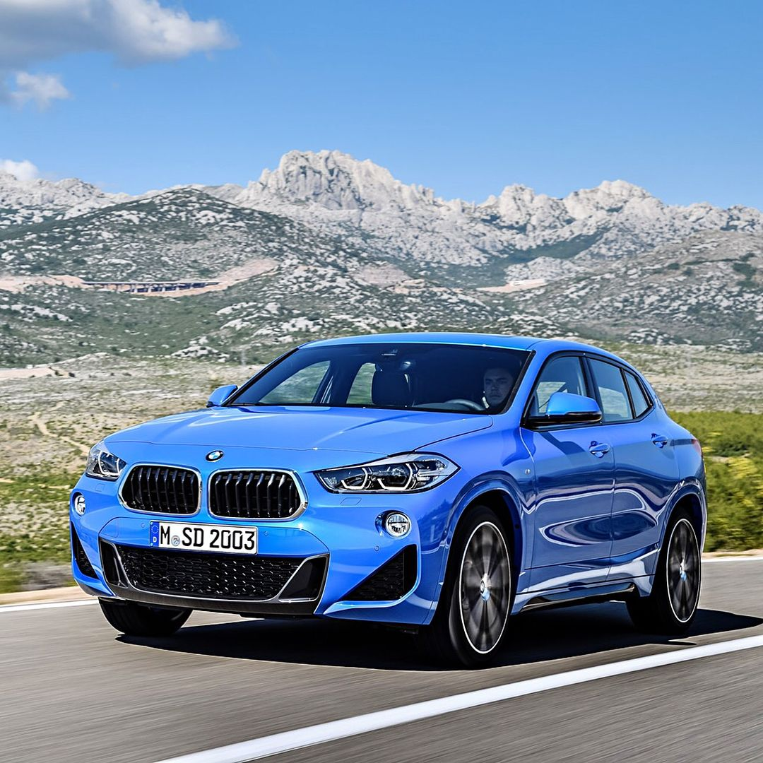 2018 BMW X2 M Sport Package in Milano Blue Early 2018 U