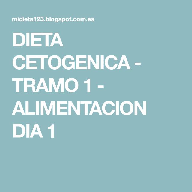 Recetas para dieta cetogenica tramo 1