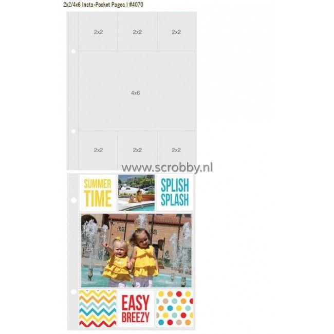 SIMPLE STORIES Sn@p! Insta Pocket Pages 2X2 Squares & 3X4 Rectangles - Google zoeken