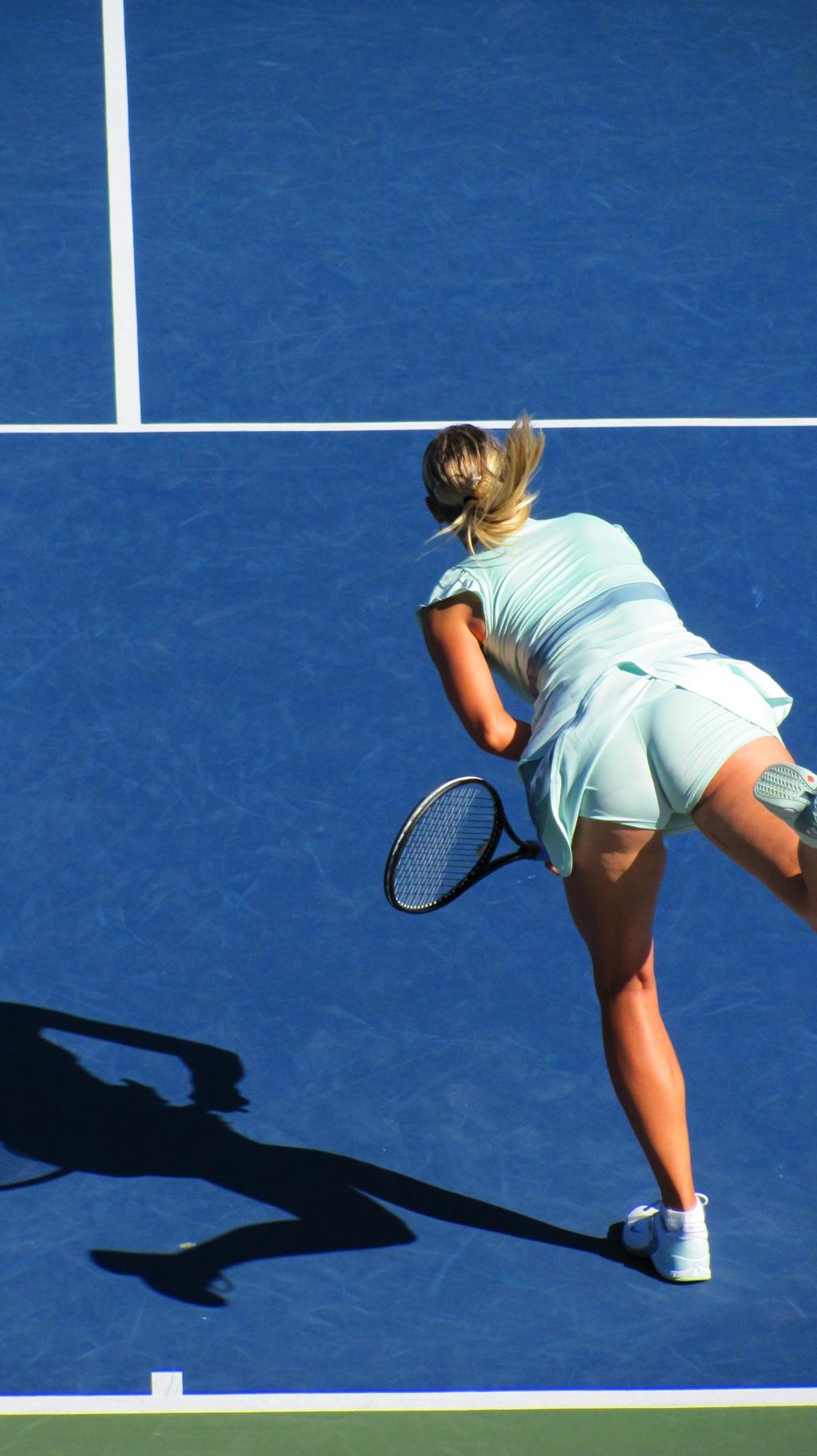 Hot tennis ass