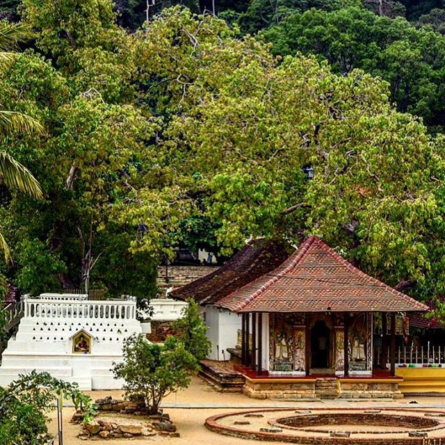 Kandy Temples. Kandy is studded with temples. The Sacred