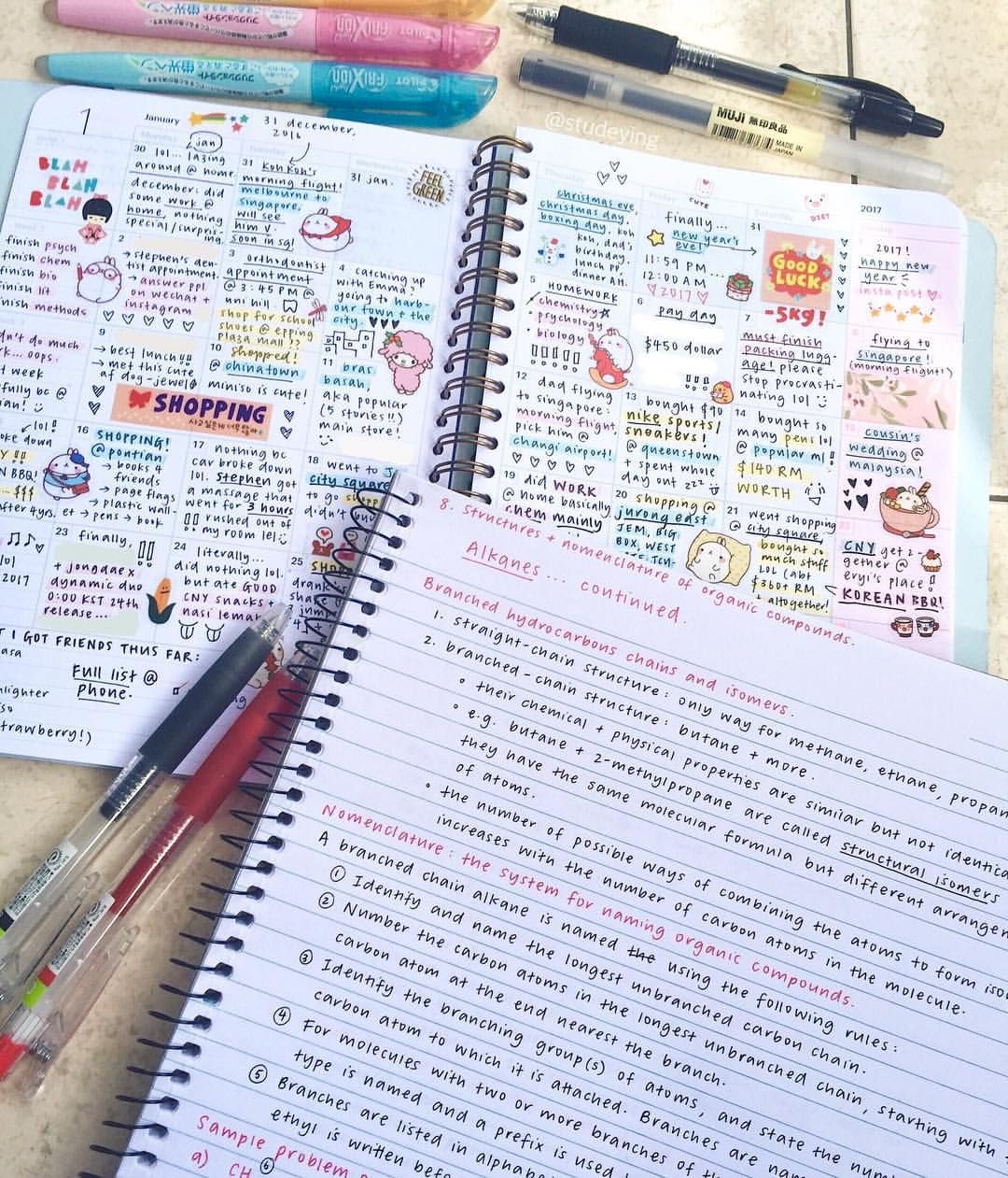 ✕☽pinterest | itsnotdungmit☾✕ | s t u d y | Study notes