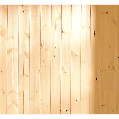 V Groove Gold Pine Wood Wall Panel
