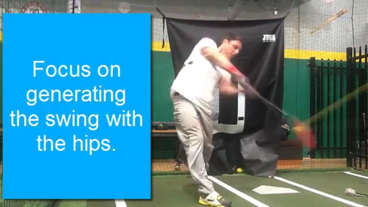 Hitting drill to improve reaction time and hitting with 2