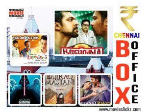 Top 5 in Chennai City Box Office