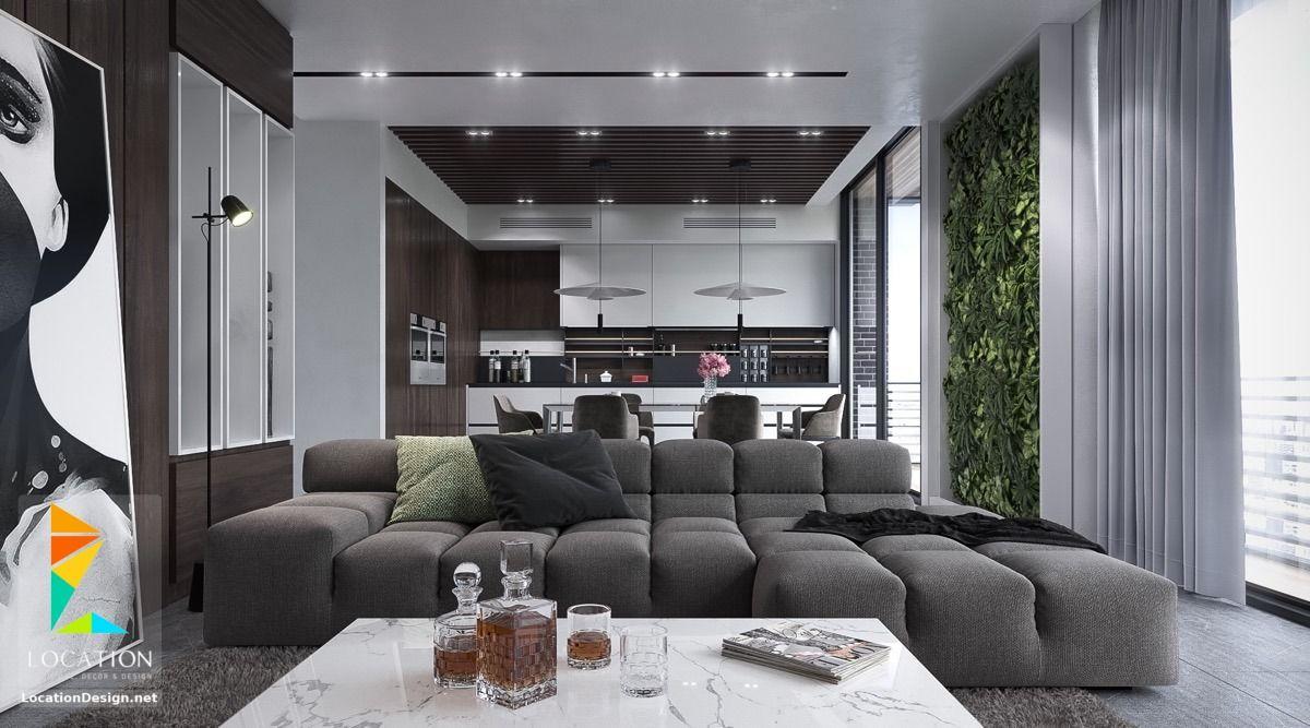 غرف معيشة ديكورات مودرن للصاله 2018 2019 لوكشين ديزين نت Living Room Modern Living Room Design Decor Modern Living Room Interior