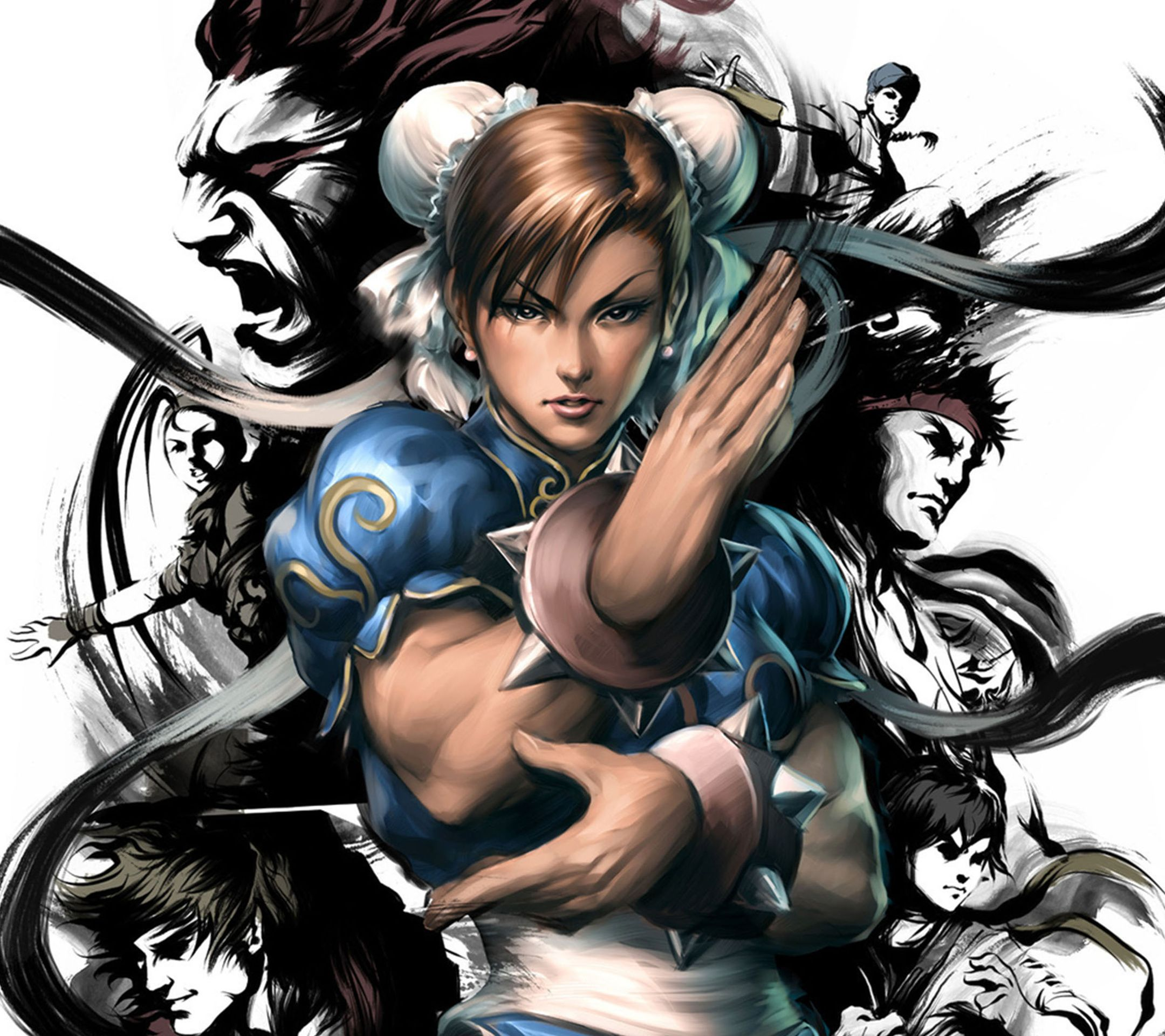 Chun Li Street Fighter Tap To See More Of The Top