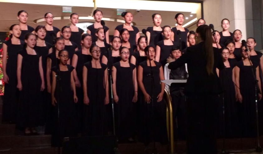 Renaissance Middle Charter School Participated In The 27th Annual Coral Gables Caroling Competition Where Schools Compete Charter School School School Opening