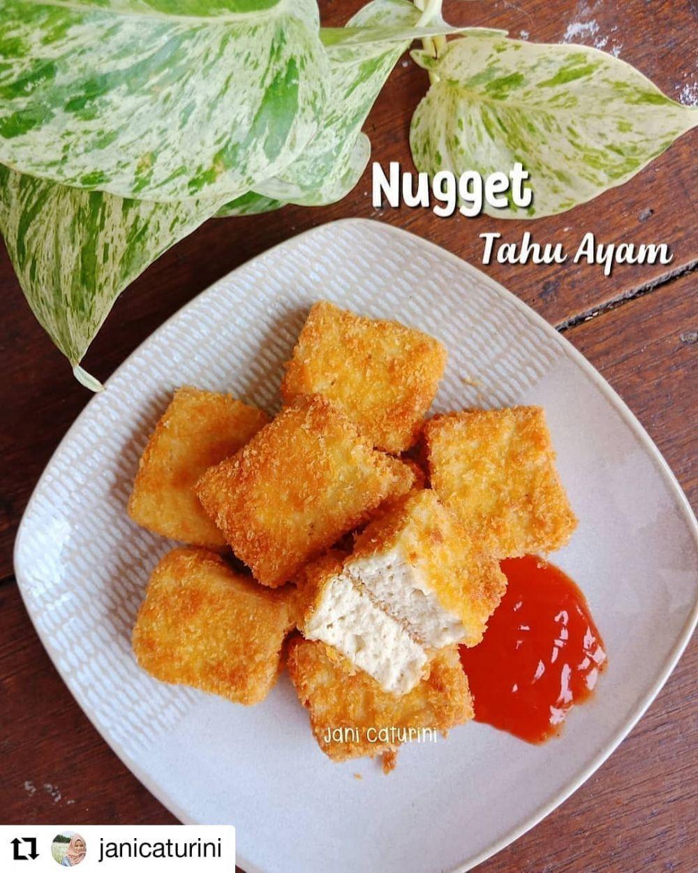 Resep Nugget Rumahan Instagram Makanan Resep Resep Masakan