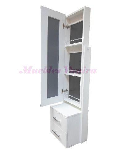 Mueble espejo joyero muebles en melamina habitaci n for Espejo joyero casa