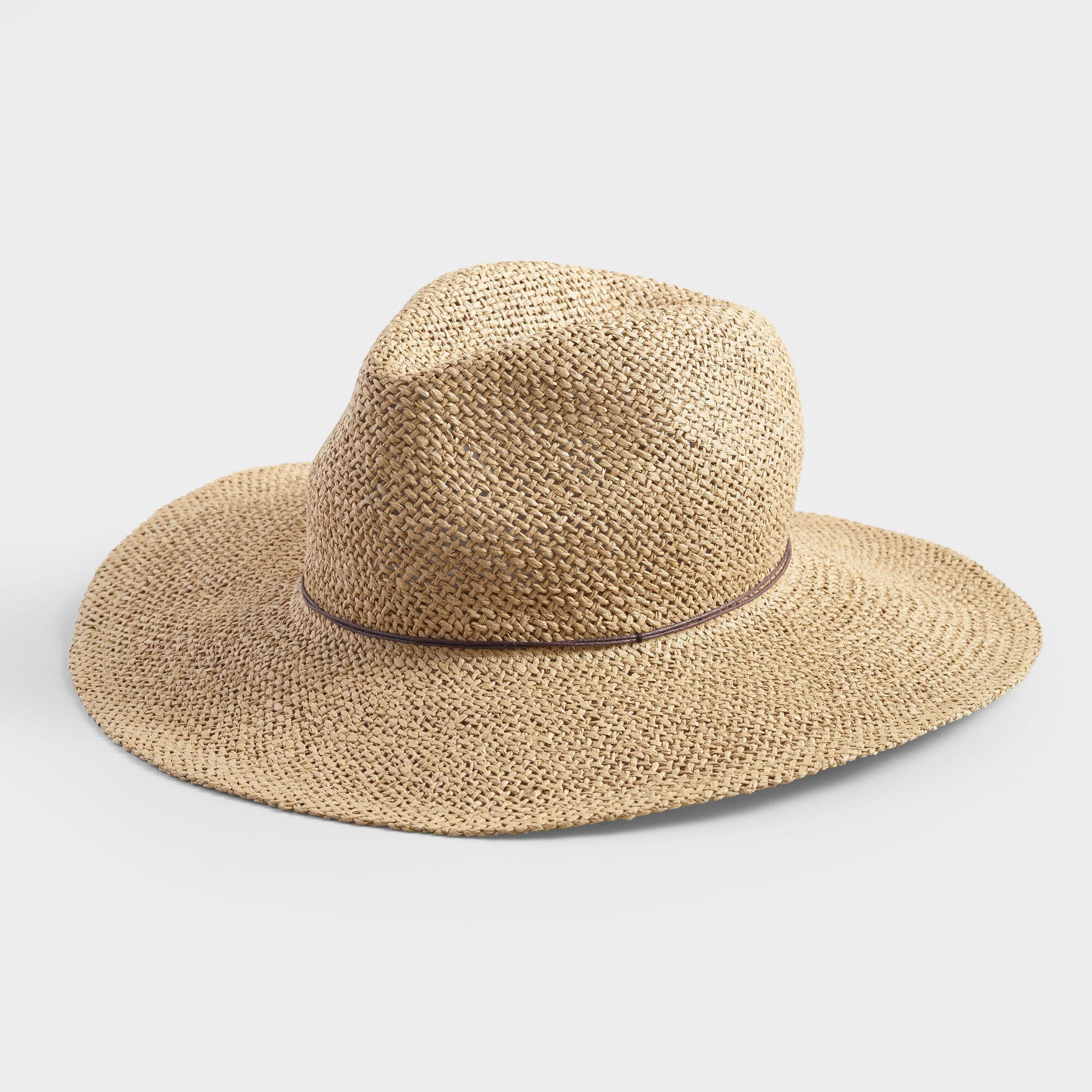 eacf1dd05 Tan Straw Rancher Hat by World Market | Products in 2019 | Hats ...