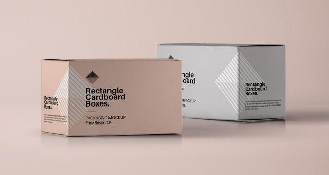 Rectangular Psd Box Mockup Psd Mock Up Templates Packaging Mockup Box Mockup Free Packaging Mockup