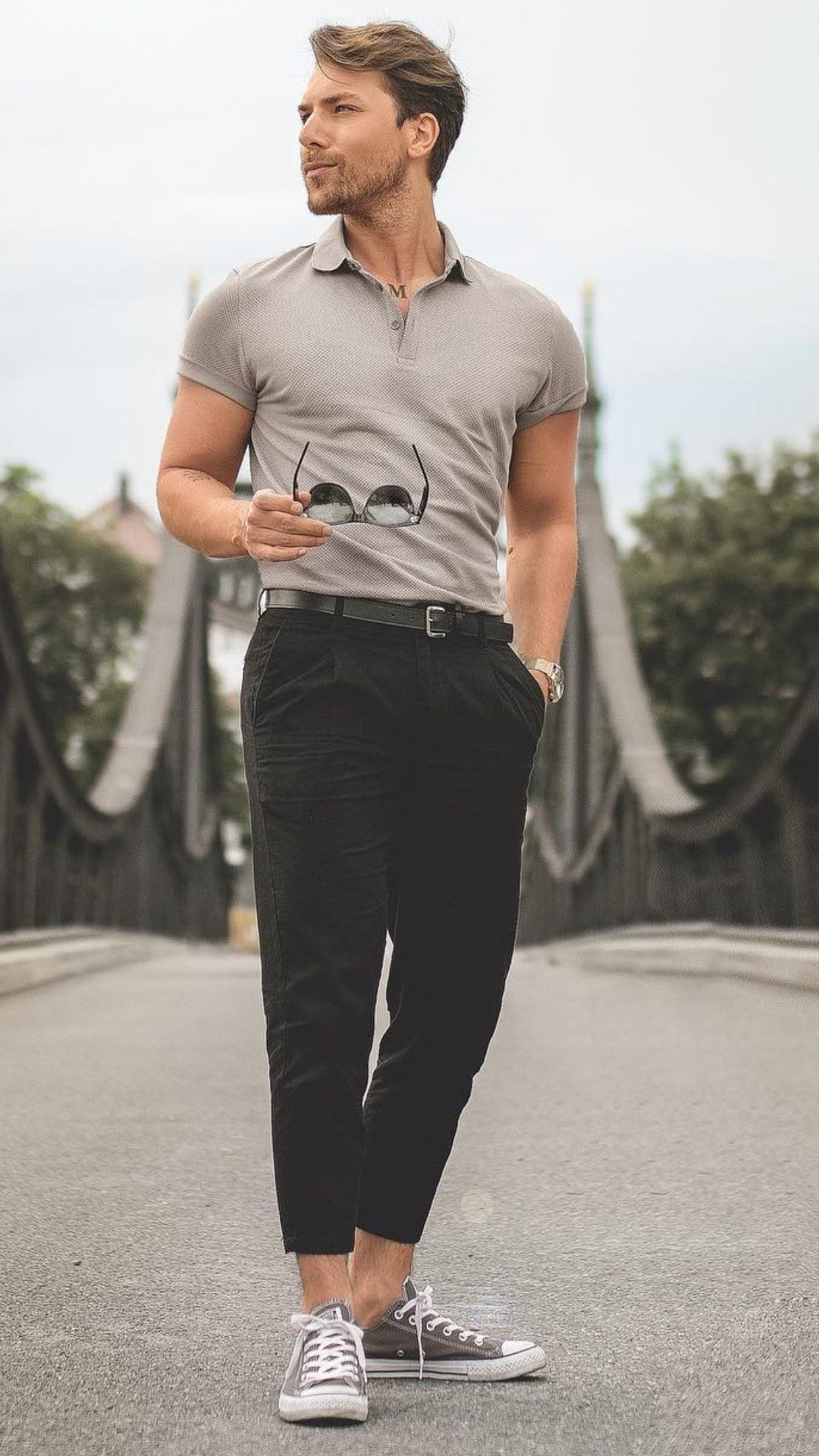 df54ddc064a 5 Polo Shirt Outfits For Men  poloshirtoutfits  streetstyle