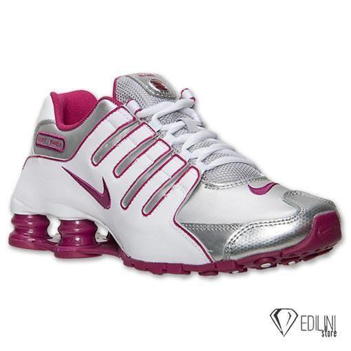 27435e52889 Zoom Tenis Nike Shox Nz Eu Running Prata E Pink
