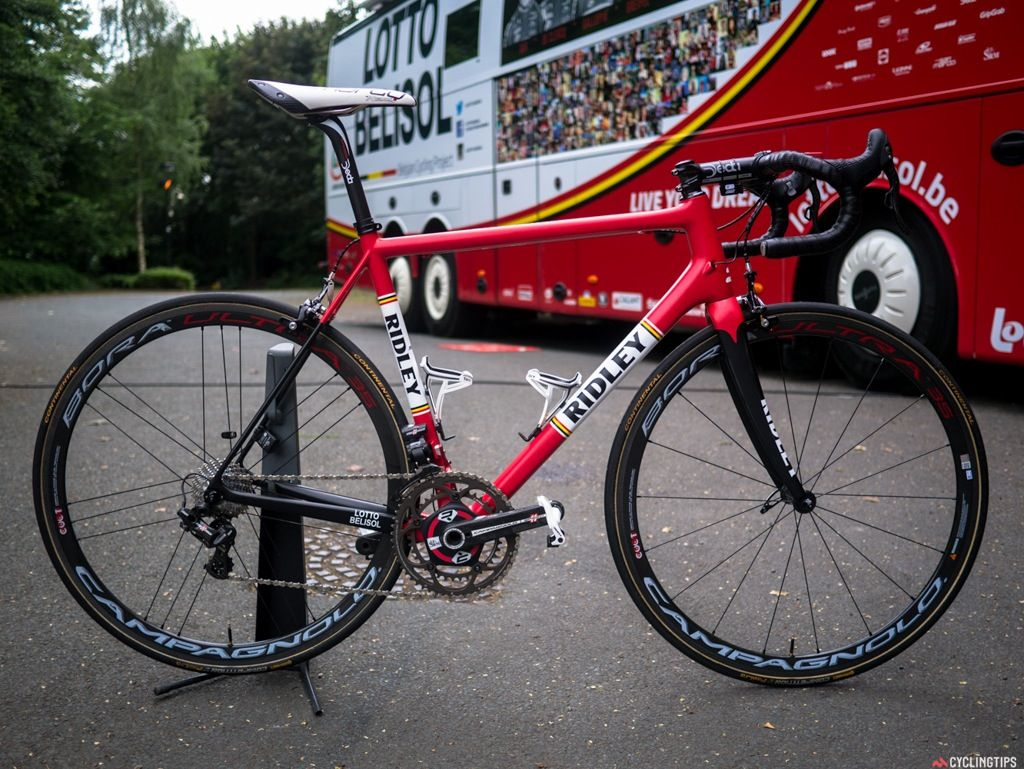 Lotto Belisol S Ridley Bikes At The Tour De France Cyclingtips