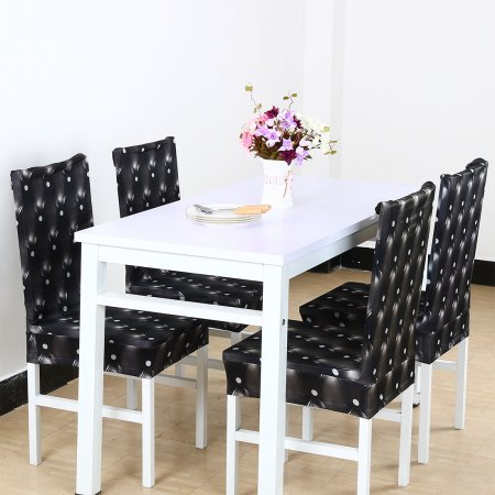 Astonishing Piccocasa Stretch Dining Room Chair Covers Protector Machost Co Dining Chair Design Ideas Machostcouk