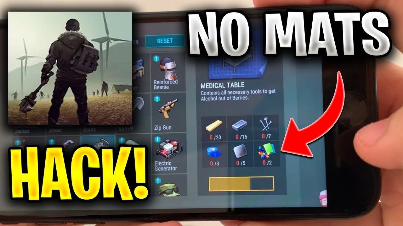 Last Day On Earth Survival Latest Update Hack Mod Menu Unlimited Items Day Last Day In Game Currency