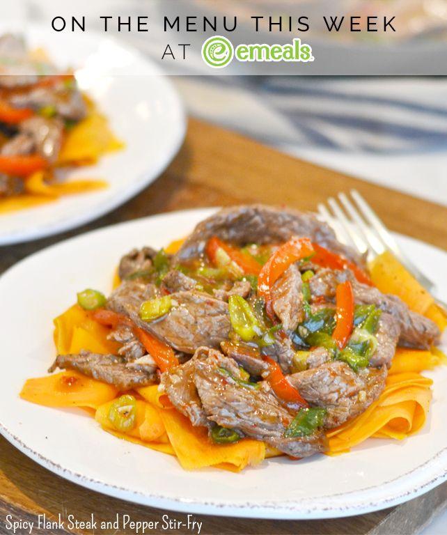 On eMeals Menus This Week: Paleo, Gluten-Free Spicy Flank ...