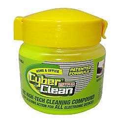 Cyber Clean Hi-Tech Cleaning Compound, 5.11 Oz. safely removes dirt and dust      Cleaning enhances device performance. ...