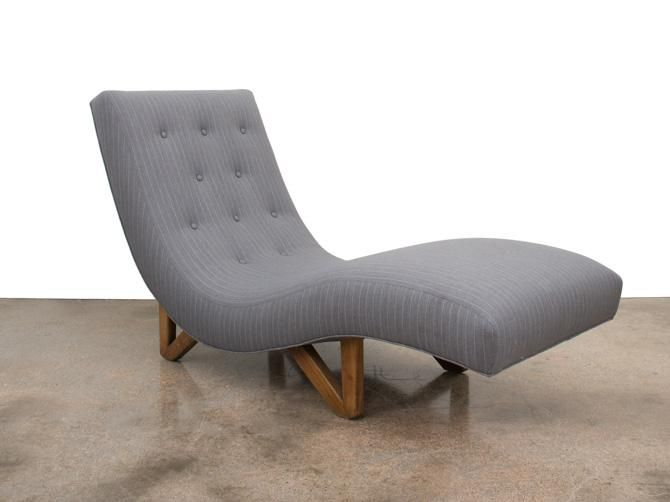 Mid Century Modern Chaise Lounge With Images Mid Century
