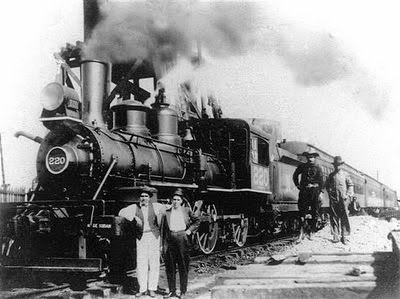 Locomotora Nº 220 Chile Tren Antiguo Revolución Mexicana
