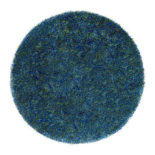B 196 Lum Rug Low Pile Blue Ikea Cool Rugs Ikea Carpet