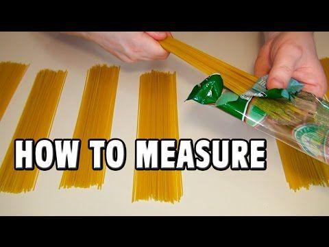 hur mycket pasta per person