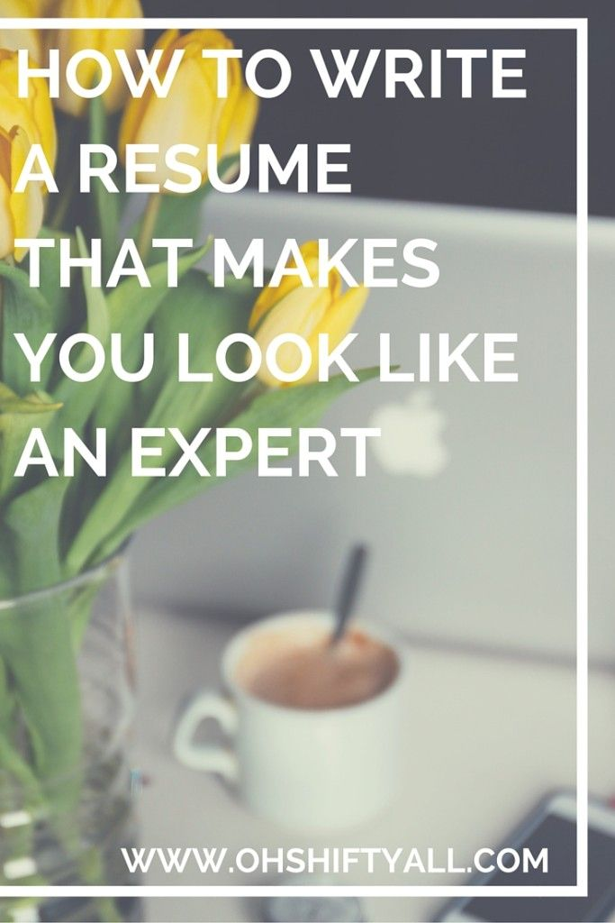 How to Write a Resume Let our 15 years of experience help you hire - how to write experience resume