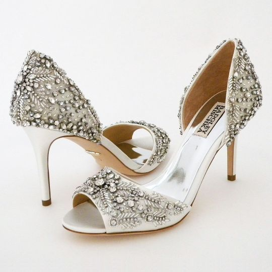 84a47c06f Badgley Mischka Wedding Shoes