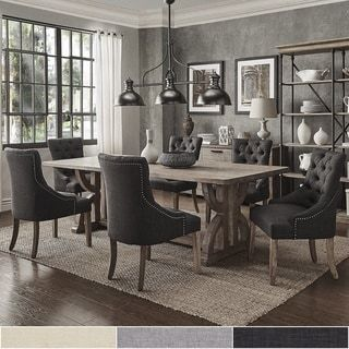 Paloma Salvaged Reclaimed Pine Wood 7 Piece Rectangle Dining Set By INSPIRE  Q Artisan | Decorating Ideas | Pinterest | Pine, Dining And Woods