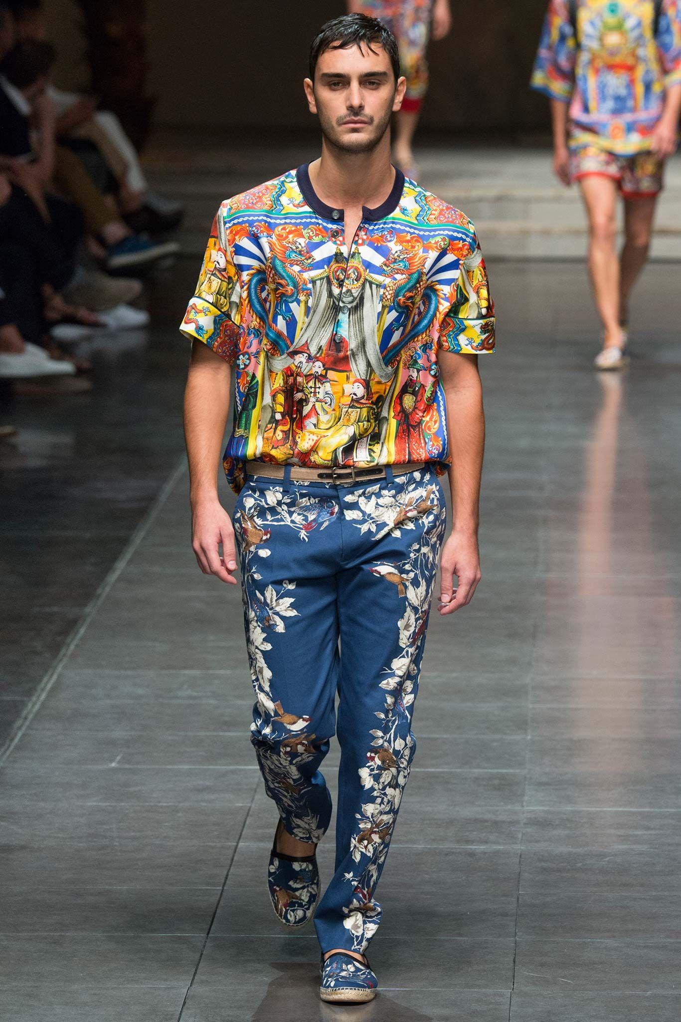 Dolce & Gabbana Spring 2016 Menswear - Collection ...