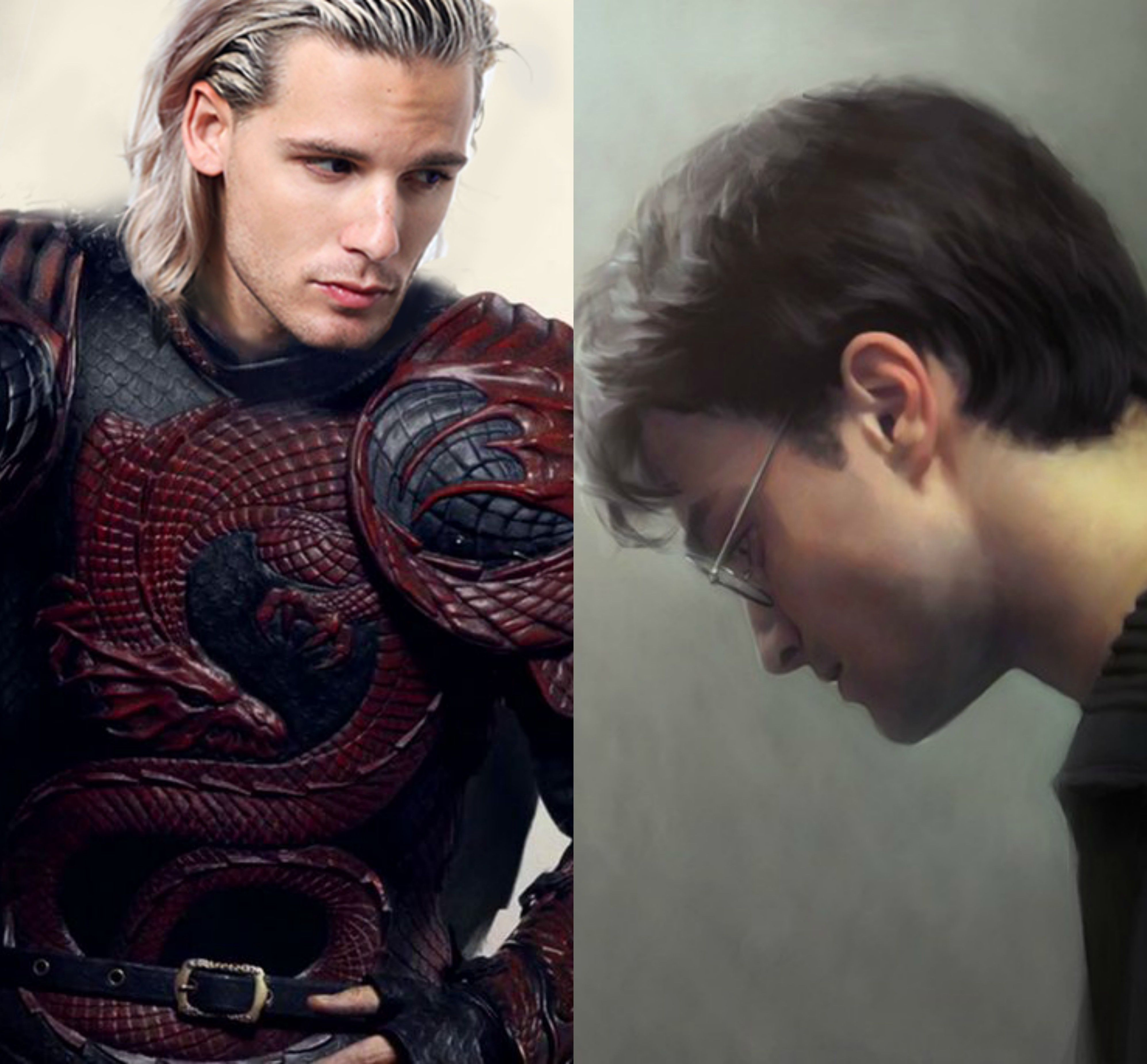 Harry Potter and Rhaegar Targaryen in