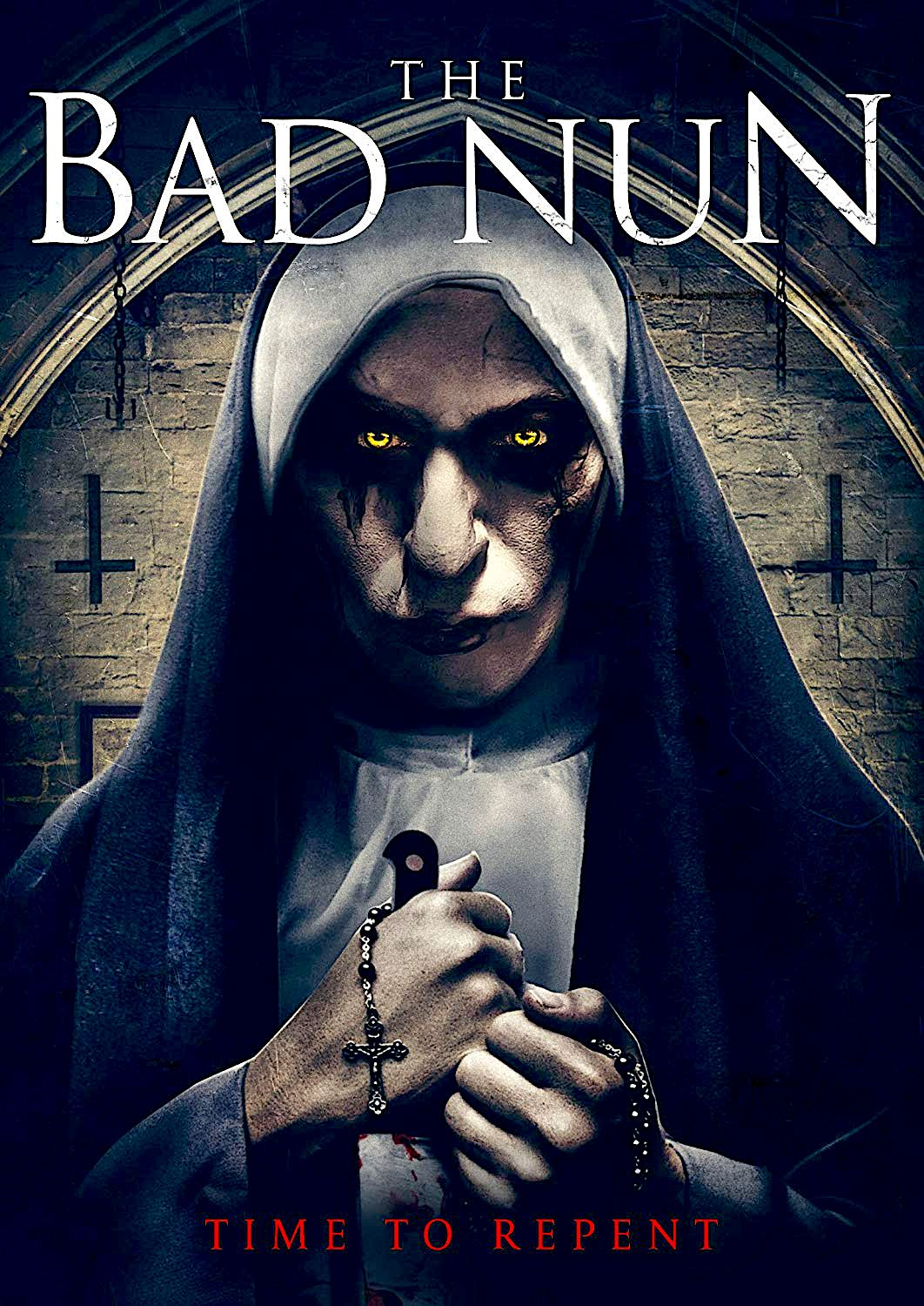 The Bad Nun Dvd Cinedigm Cool Horror Movie Posters Movies