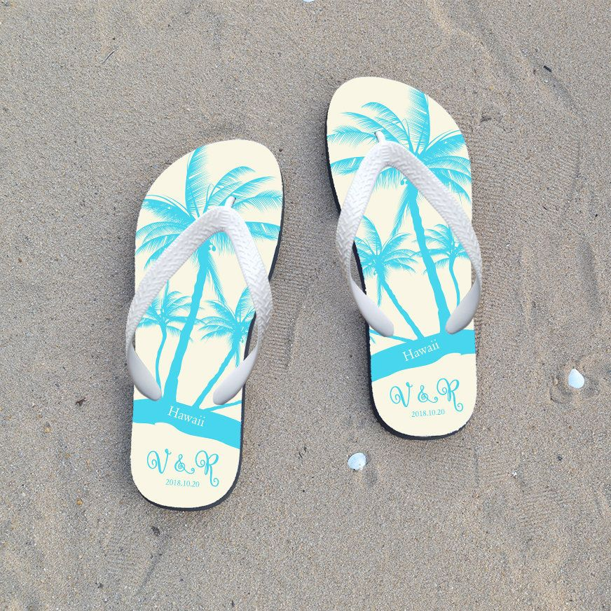 3a823f51e4279 Personalized flip flop for guest