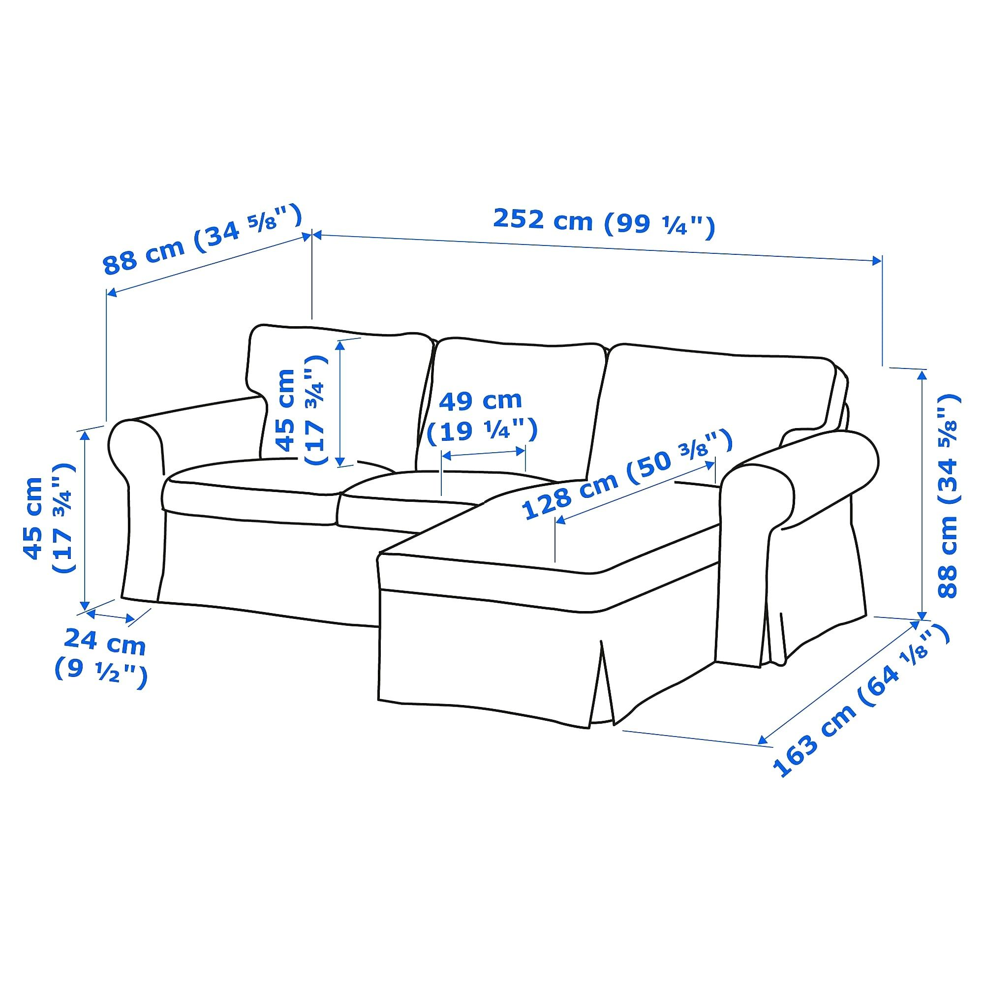 Ikea Ektorp 3er Sofa Ektorp Losas Macizas Sofa