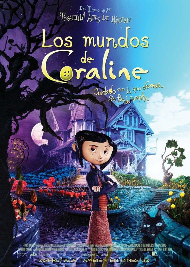 30 Películas Para Ver En Halloween Con Niños Películas De Halloween Coraline Peliculas