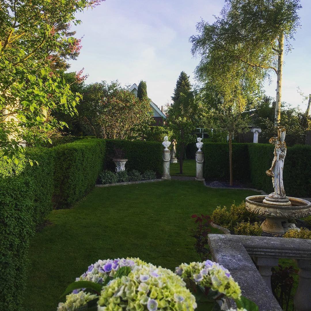 Garden Design - Chardonnay Décor.  Marbleart from DanskMarmor  #love #beautiful #garden #design