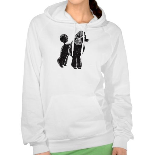 Standard Poodle Women's Fleece Pullover Hoodie | Standard poodles ...