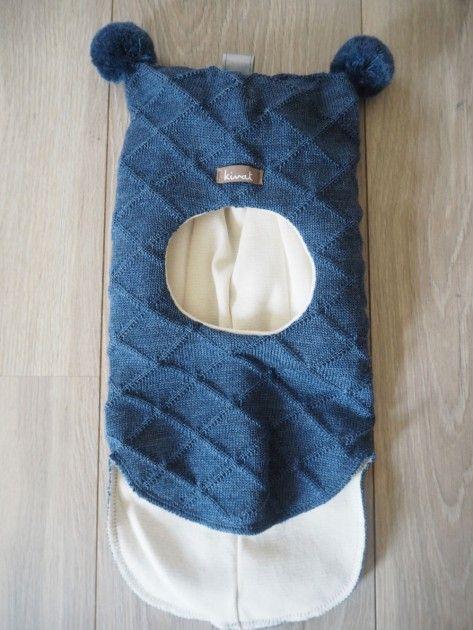 1153331e Kivat lue, blå balaclava med rutemønster og dusker | DressMyKid.no - Barn og