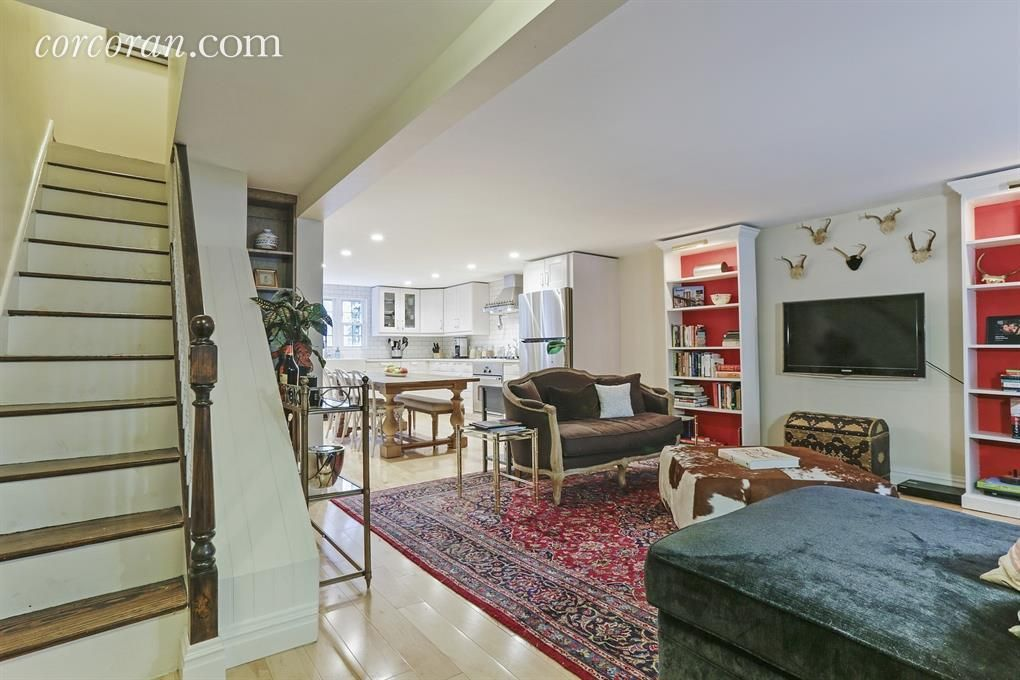This charming South Slope/ Gowanus two-unit townhouse is currently configured as...#charming #configured #gowanus #slope #south #townhouse #twounit