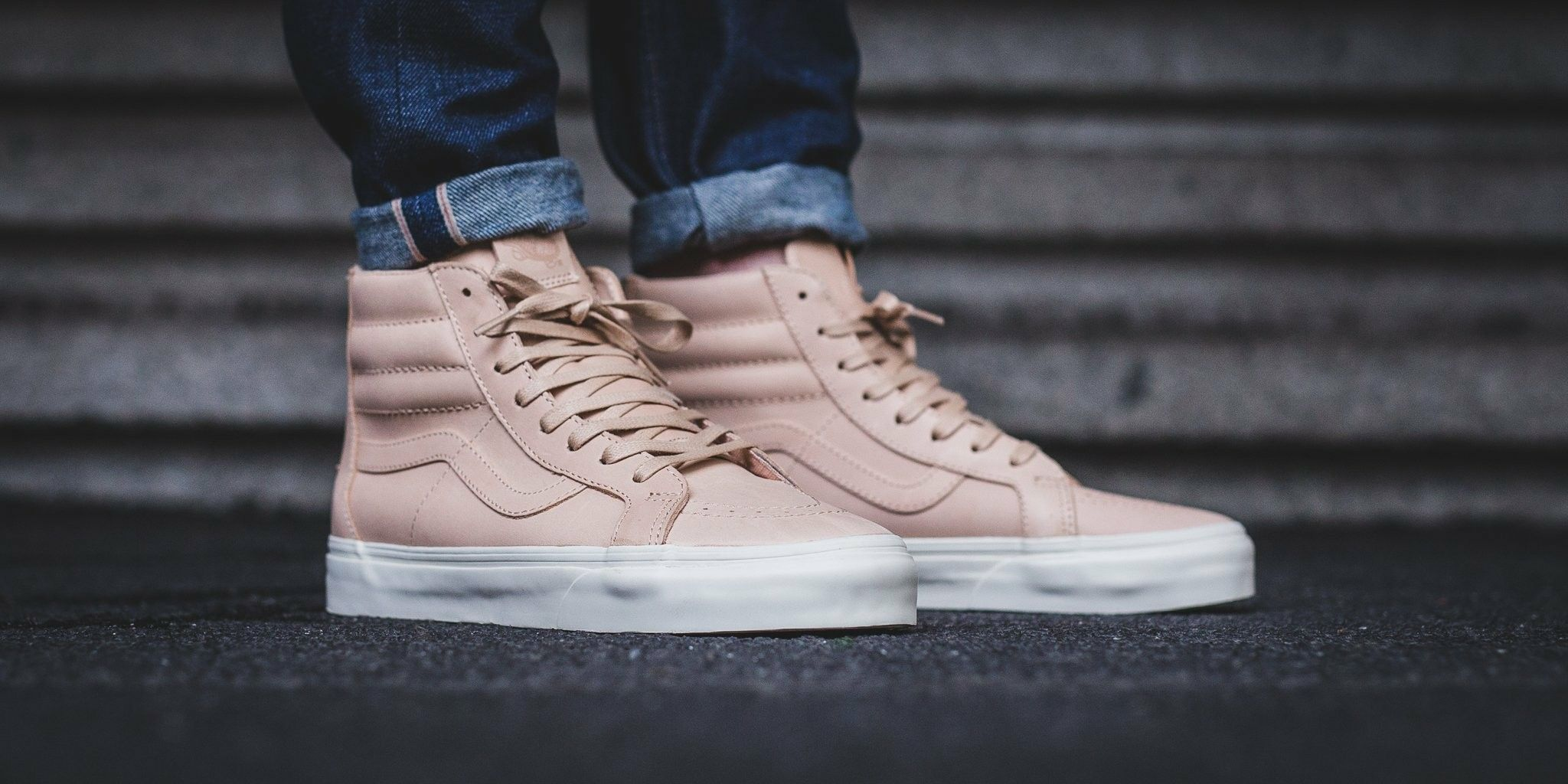 0f3ca60947 NEW IN! Vans SK8-HI REISSUE ZIP (Veggie Tan Leather)