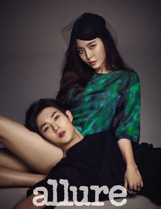 Hogu's Love stars UEE and Choi Woo Sik in Allure Magazine