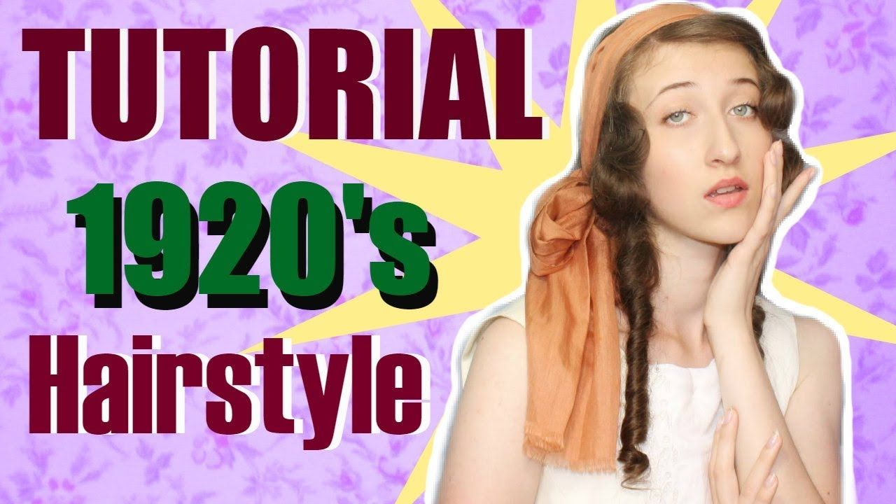 1920 S Hairstyle For Long Hair Tutorial 1920 S Makeup Longhair Youtube With Images Hair Tutorial Long Hair Tutorial 1920s Hair
