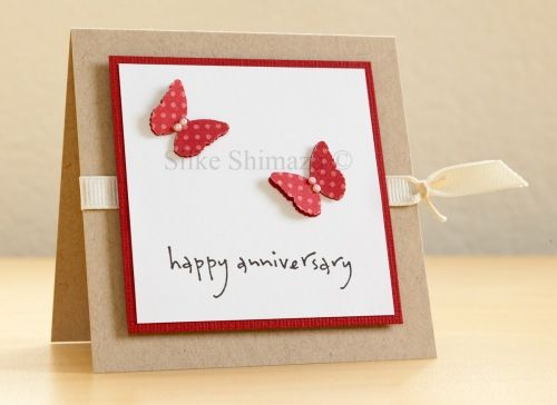 Pin By Kristal Simpson On Cards Wedding Anniversary Homemade Anniversary Cards Cards Valentines Cards