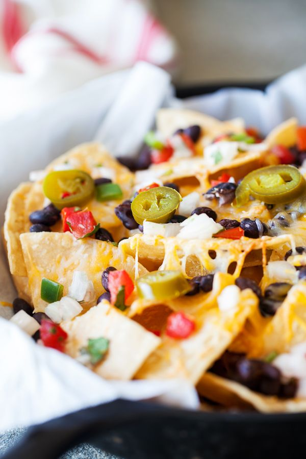 Better than Restaurants Skillet Nachos