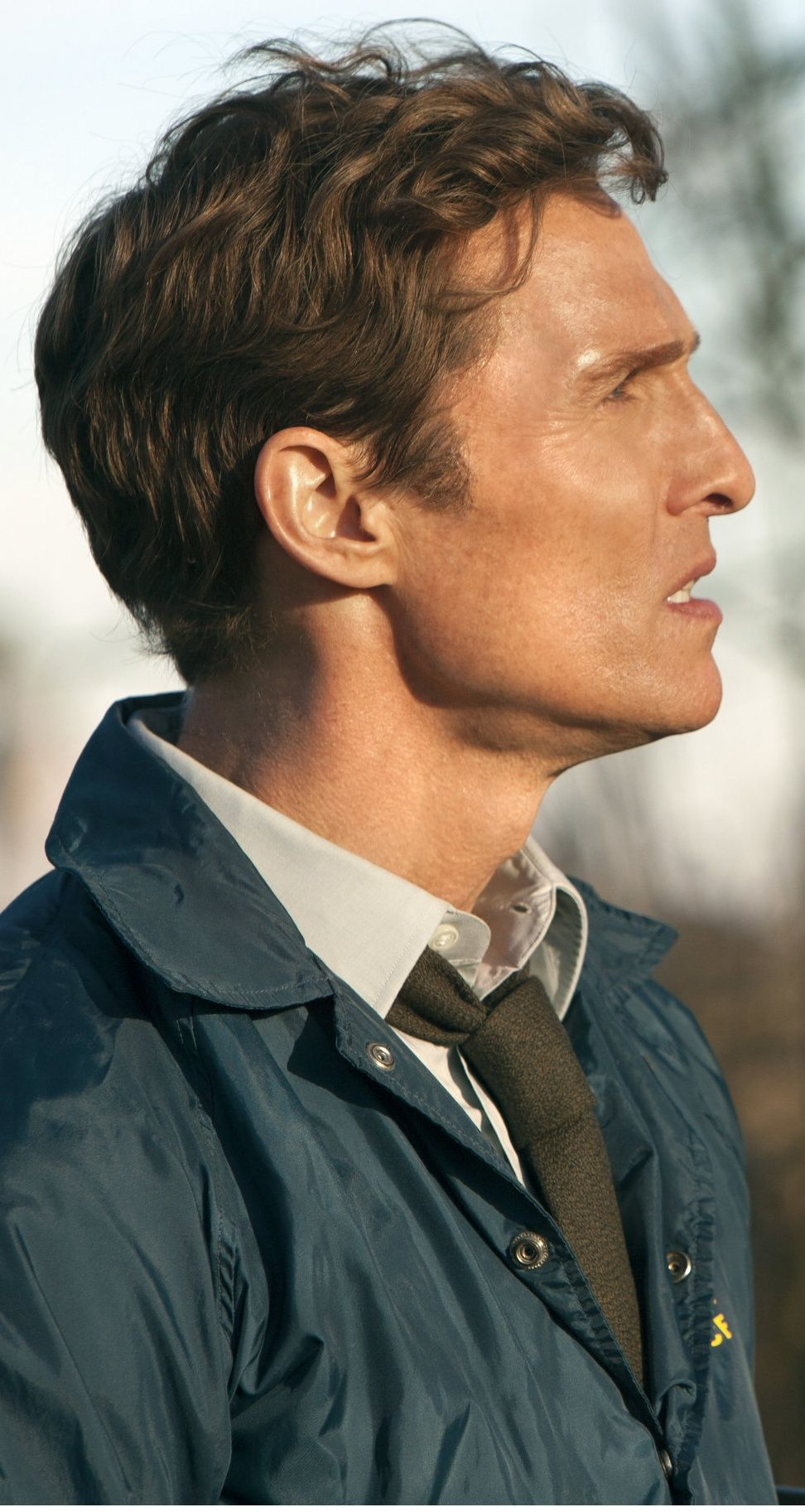 Matthew McConaughey as Detective Rustin Cohle | Matthew ...
