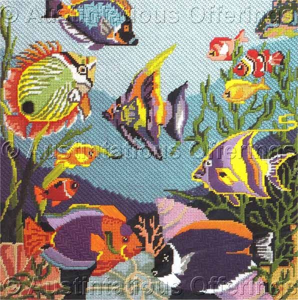 Needlepoint Kit Fish