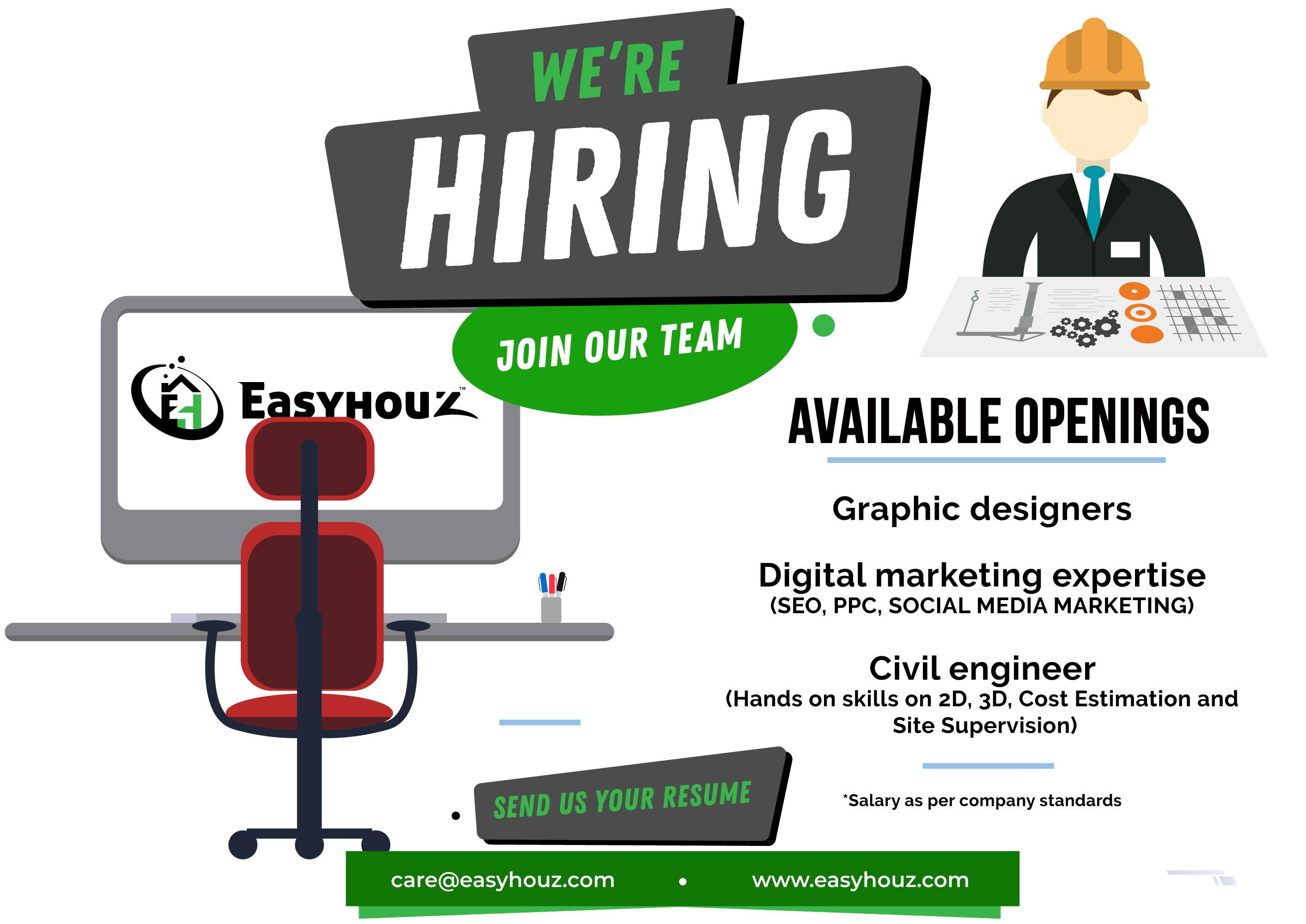 We are hiring!!! Send us your resume👉🏻
