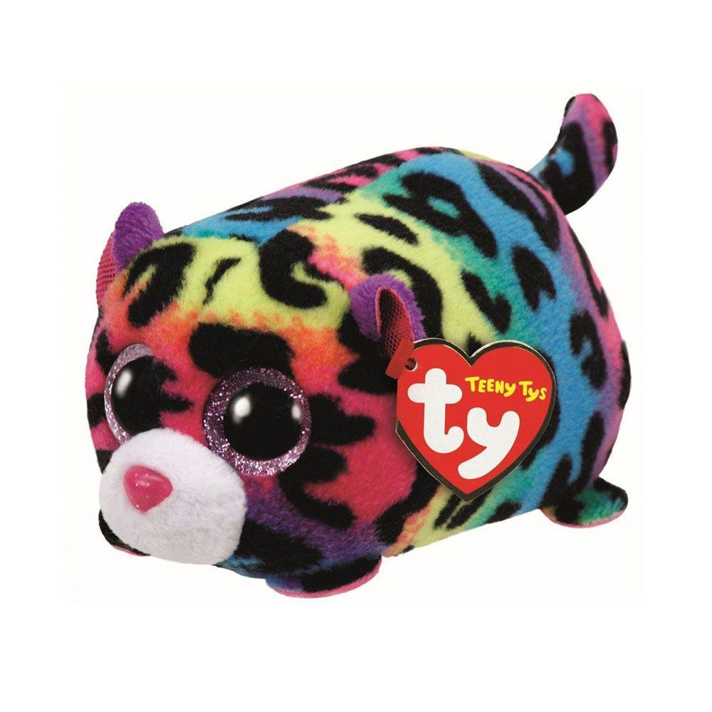 Pelucia Beanie Boos Teeny Leopardo Jelly Dtc Beanie Boos
